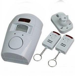 Home System 2 Remote Control Wireless IR Infrared Motion Sensor Alarm Security Detector Free Shipping