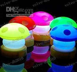 Wholesale Small Night Light Lamps - LLFA2752 100pcs lot Christmas gift Touch technology LED Night Light Fashion Small mushroom lamp shaped Pat