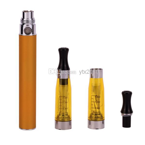 Ego starter kit CE4 atomizer Electronic cigarette e cig kit 650mah 900mah 1100mah EGO-T battery blister case Clearomizer E-cigarette Dhl