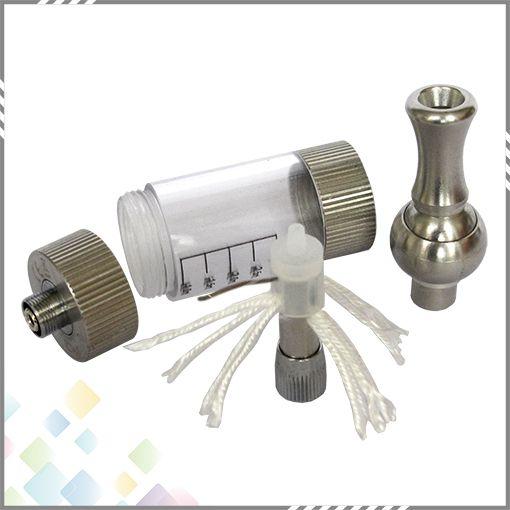 Partihandel iClear 30 Dual Coil Clearomizer Ecig iClear 30 Atomizer med vridbar Drip Tips och utbytbara Coil Head
