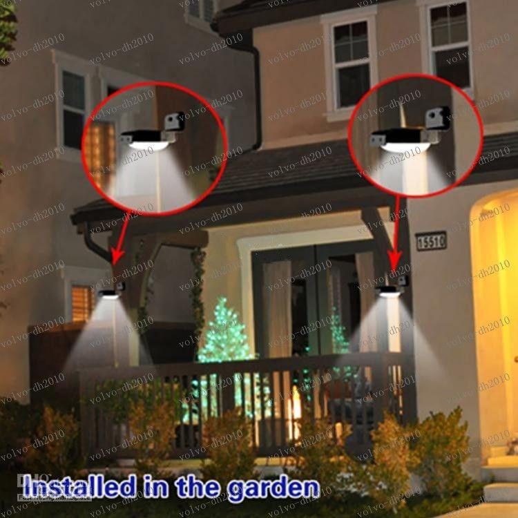 LLFA2770 product Waterproof Wireless 16 LEDs 800mAh High Quality Solar Motion Detection Sensor Light LED Wall Illuminate Garden Yard Lamp
