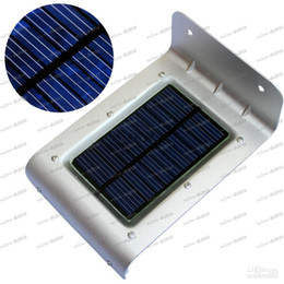 Wholesale Garden Products - LLFA2770 product Waterproof Wireless 16 LEDs 800mAh High Quality Solar Motion Detection Sensor Light LED Wall Illuminate Garden Yard Lamp