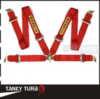 Wholesale Blue Racing Seats - Tansky - 2013 New Sabelt Racing Satefy Seat Belt FIA 2018 Homologation  width:3 inches 4Point TK-SAB04 Color : Red, Blue, Black