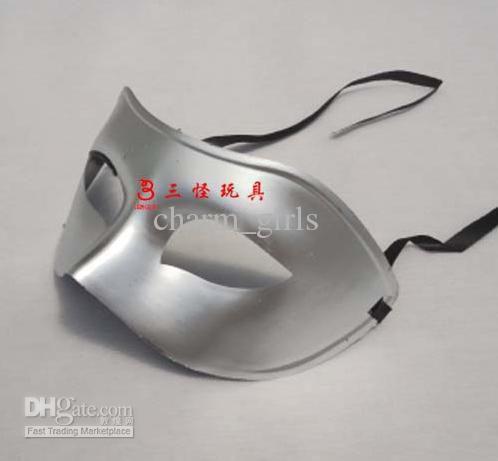 Hohe qualität mann maske 200 Teile / los Venezianische maske maskerade party supplies kunststoff halbmaske lieferungen