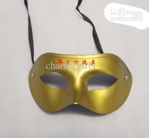 free shipping 200PCS/lot Venetian mask masquerade party supplies plastic half-face mask supplies