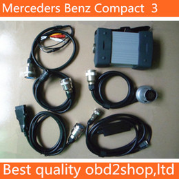 Wholesale Mercedes Mb Star - Best Price MB Star C3 for Mercedes Benz Diagnostic Tool with 2 Year Warranty free shipping