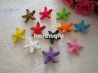 Wholesale Starfish Hair Jewelry - Factory direct Harajuku natural starfish hairpin side clip hair ring hair accessories fashion jewelry wholesale seaside eye