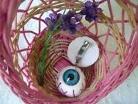 Wholesale Harajuku Brooch - Japanese Harajuku bloodshot eyeball eyeball jewelry brooch pin accessories punk collar