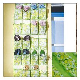 Wholesale Hanging Shoe Racks - 20 Pockets Shoe Organizer Rack Hanging Display Storage Bag Hanger