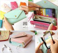 Wholesale Multi Propose Envelope - Wholesale - New Multi propose envelope wallet case Purse for Galaxy S2,S3,iphone 4,4S