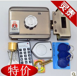 Wholesale Ic Card Locks - IC id encryption card lock electronic lock and hire charge induction door a body locked doors