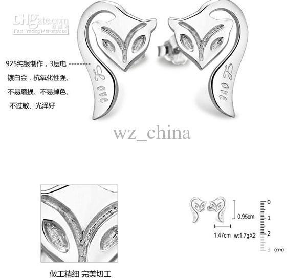 Joyas nupciales Conjuntos Colgante Collar / Pendientes Pulsera / Brazalete Pulsera Mujer Bohemio Animal Blanco Chapado en oro 925 Sistema de plata esterlina