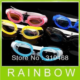 Wholesale Child Swim Goggles - Lowest Price FREE FEDEX 500pcs lot RA 3 Sets Swimming Swim Goggles Glasses For Water Swimming Goggles 5 Colors Free Shipping