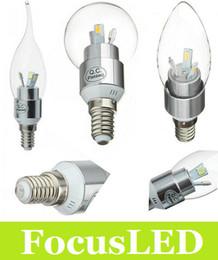 Wholesale Candle 9w - Best 360 Angle E14 E12 9W Led Bulb Light Candle Warm Cool White 6 Chips 5730 SMD 300 Lumens Led Spot Lights 85-265V