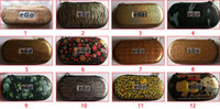 Wholesale free xm - Colorful EGO carrying case Leopard styler Case with Zipper S M XM L XL Size with Zipper DHL Free