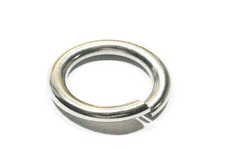 More pick Size Strong DIY jewelry finding & Components Stainless steel Jump Ring & split ring fit Necklace