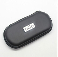 Wholesale Ego Evod Starter Kit - New Ego Zipper Case Metal Case Electronic Cigarette Zipper Metal E Cig Cases For Ego Evod CE4 CE5 MT3 Protank Ego Starter Kit