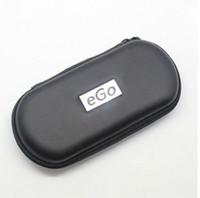 ingrosso kit di avviamento mt3 ce4-New Ego Zipper Custodia in metallo per sigaretta elettronica con cerniera in metallo E casi Cig per Ego Evod CE4 CE5 MT3 Protank Ego Starter Kit