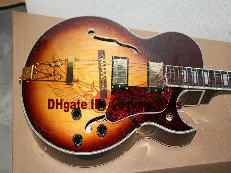 Custom Classic Honey Hollow 175 Jazz Guitar OEM Best Selling