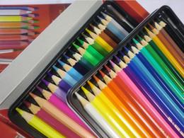 2019 caixas de lápis coloridas por atacado Koh-i-noor MONDELUZ conjunto de arte 24 artistas 'solúvel em água colorido lápis caneta pintura coloração desenho e esboçar canetas de chumbo colorido
