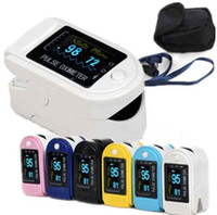 Wholesale Pluse Oximeter - SALES!!! Pluse Oximeter,Fingertip SPO2 Monitor CMS50D with CE &FDA Approved+Free Shipping