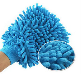 Wholesale Microfiber Chenille Car Wash Glove - Car Wash Glove,Microfiber Chenille car cleaning cloth,chenille car cleaning glove mitt