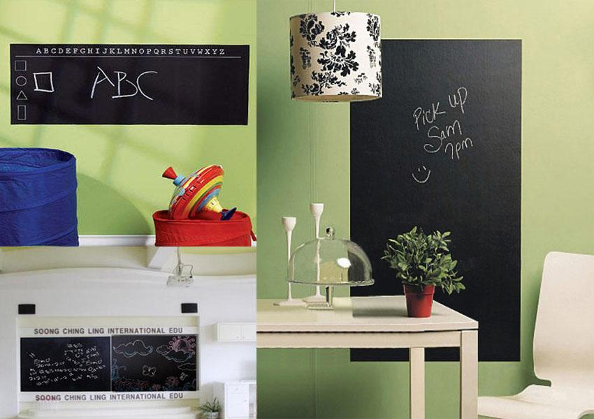 45*200cm Removable Blackboard Stickers Pvc Chalkboard Wall Decor Decals For  Kids Children Playroom, For Office And Classroom Baby Room Wall Decals Baby  Room ...