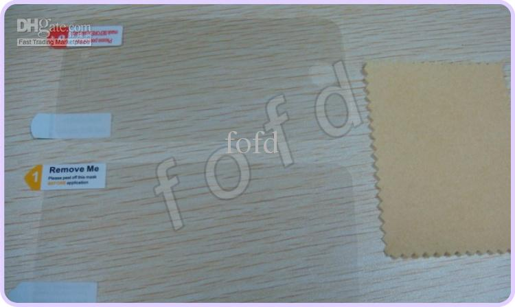 Clear LCD Screen Protector Guard Full Body anteriore posteriore iPhone 5 6 7 8 X 5g 5s 1000 pezzi / lotto