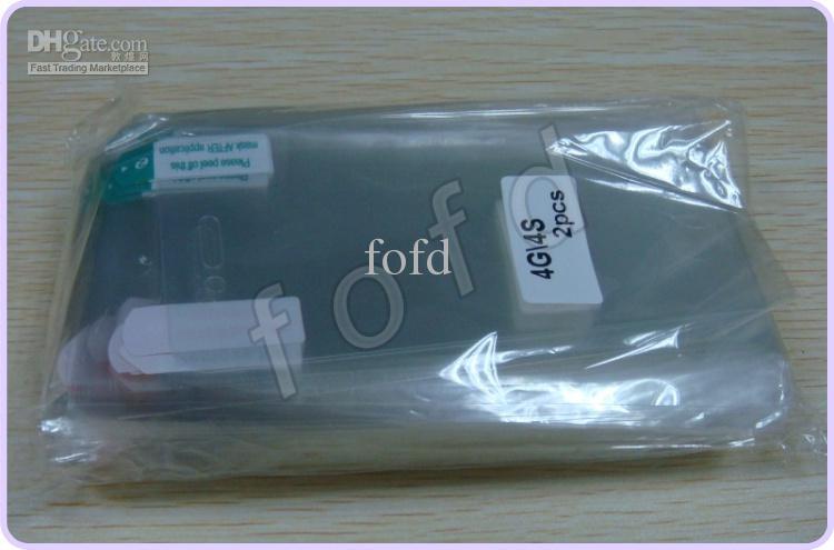 Clear LCD Screen Protector Guard completo Body Front Back iPhone 4 5 6 7 8 X 4S senza imballaggio al dettaglio /