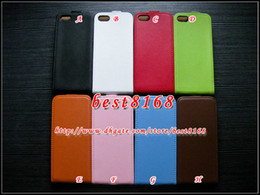 Wholesale Case For Iphone 5c Iphone5c - Genuine real Leather flip vertical pouch case for iphone 7 7Plus SE 5 5S 5 5C iphone5c 6 6S Plus 5.5 4 4S skin cover cases colorful pouches