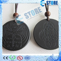 spiritual cards - Newest Design Quantum Scalar Energy Pendants Angel Spiritual Style with Authenticity Ion Card wu