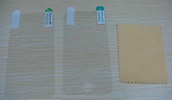 Clear LCD Screen Protector Guard Full Body anteriore posteriore per iPhone 5 6 7 8 X 5g 5s 1000 pezzi / lotto