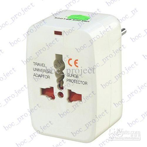 Universal World All-in-one Travel AC Power Adapter Converter to US/UK/AU/EU Plug CN post