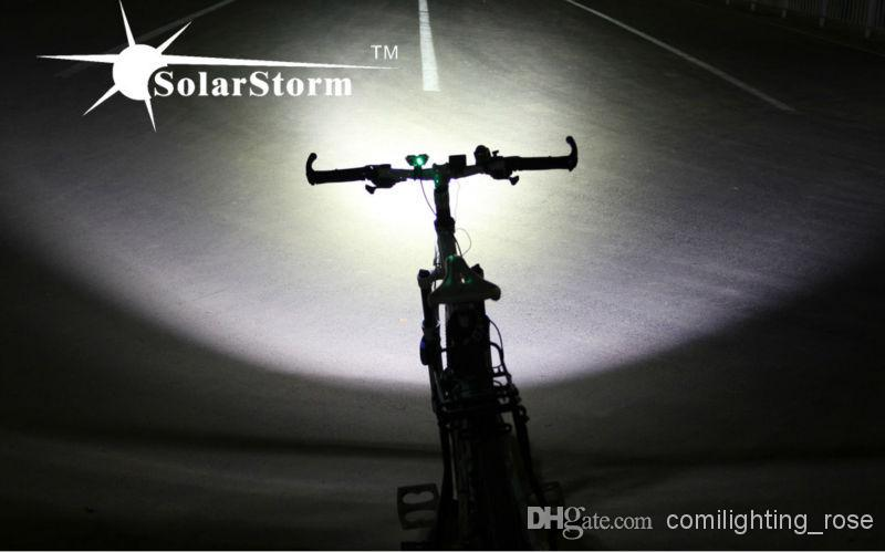 Waterproof IP65 Bike Light XM-L U2 LED Cycling Light Headlight Head front Light