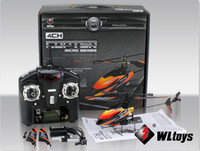Wholesale Battery Toy Helicopter - 2013 new free shipping V911 WL rc helicopter Toy Single Blade Gyro RC Mini Helicopter With LCD 2 Batteries Outdoor free shipping