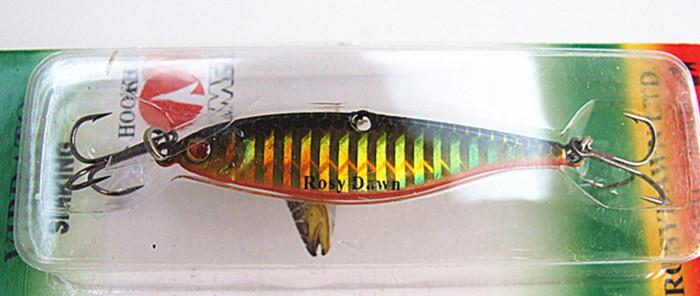 Señuelo de plomo señuelo señuelo de la pesca forma de pescado cebo falso peso de plomo aparejos de pesca China Metal Señuelos doble gancho dos tamaño 21g 14g
