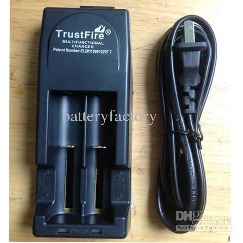 Excellent TrustFire 001 Multifunctional Charger TR001 Lithium Battery Charger for 18650 14500 16340 EU or US plug Black color MYY1898
