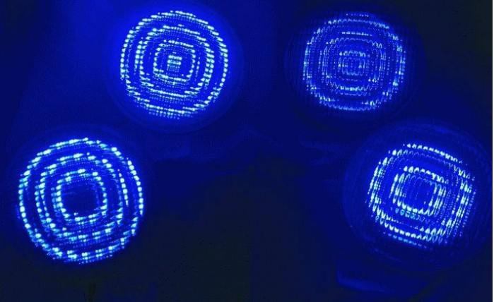 12V 54W 40W 35W 24W 18W RVB LED lumière de piscine lumière sous-marine étanche IP68 Piscina fontaine extérieure lampe contrôleur à distance