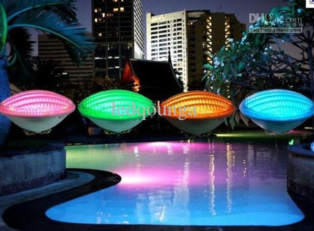 AC 12V 54W 40W 35W 24W 18W RGB LED piscine lumière lumières sous-marines étanche IP68 Piscina Fontaine d'extérieur Lampe télécommande