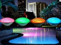 geführtes rgb piscina großhandel-AC 12V 54W 40W 35W 24W 18W RGB LED Schwimmbad Licht Unterwasser Lichter Wasserdicht IP68 Piscina Outdoor Brunnen Lampe Fernbedienung