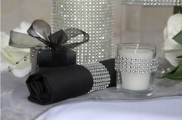 "Wholesale Crystal Mesh Fabric Rhinestone - 4.5"" 10 yard Wedding Party Favor Decoration Diamond Mesh Rhinestone Ribbon Crystal Wrap Silver wa040"