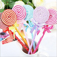 Retail Cute Lollipop Pen Ball point pen Office supplies Stat...