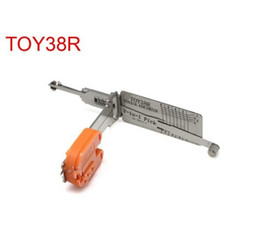 toyota locksmith tools 2021 - Car locksmith too Smart TOY38R 2 in 1 auto pick and decoder lockpick tool locksmith for toyota