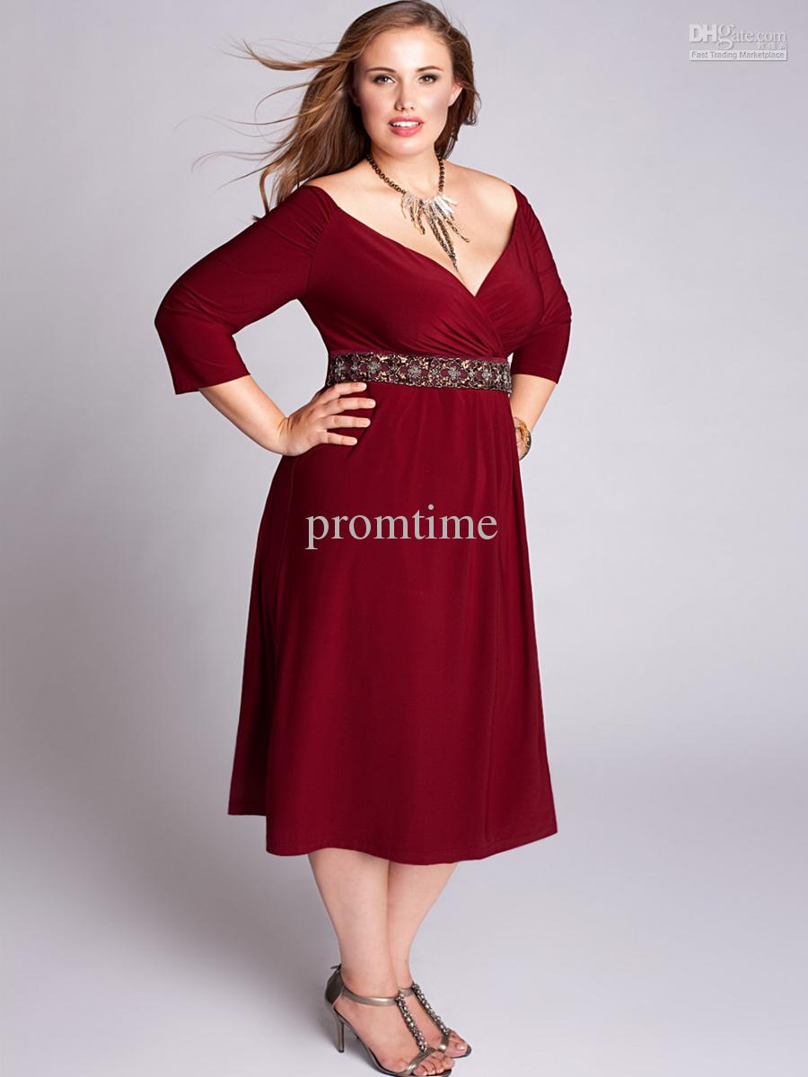 3 4 Length Cocktail Dresses