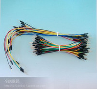 Wholesale 65pcs Pack Flexible Breadboard Jumper Mix Color Male to Male Solderless Cable Wire