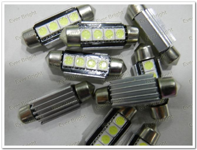 4 LED 4 SMD 5050 Auto-Hauben-Girlanden-Innenlicht LED CANBUS Girlandenlicht