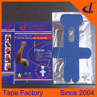Wholesale Pre Pad - Factory Pre Cut Kinesiology Tape for Tennis Elbow 2015 Hot Selling New Sports Accessories As basketball rugby gym safety kinesiology tape