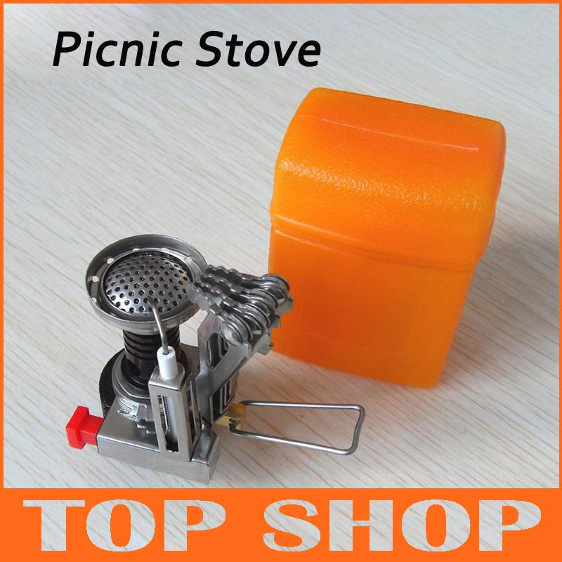 Mini Gasifier Firewood Cooking Tool Heating Camping Stove Picnic Stainless Steel