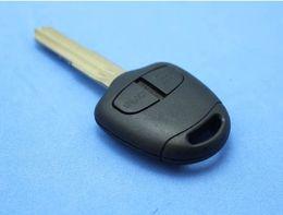 Wholesale Key Fob Housing - Replacement Housing Shell Remote Blank Key Case Fob 2 Button For MITSUBISHI Pajero Triton Lancer Evo Left Blade