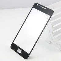 Wholesale Sii Cover - For Samsung Galaxy S2 SII I9100 Outer Front Glass Lens Screen External Digitizer Touch Screen Cover DHL EMS